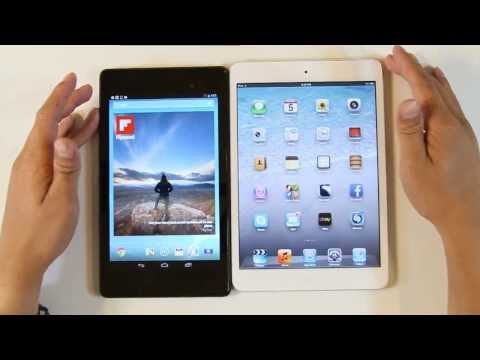 Apple Ipad Mini VS Google Nexus 7 (2nd Generation) 2013