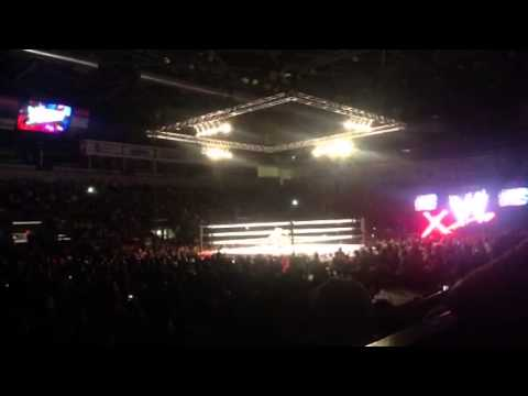 WWE Live! Divas Dance off switched by divas match Hidalgo,