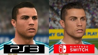 Fifa 18 | Switch VS PS3 | GRAPHICS COMPARISON | Comparativa