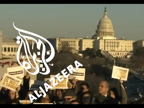 US urges Egypt to free Al Jazeera staff