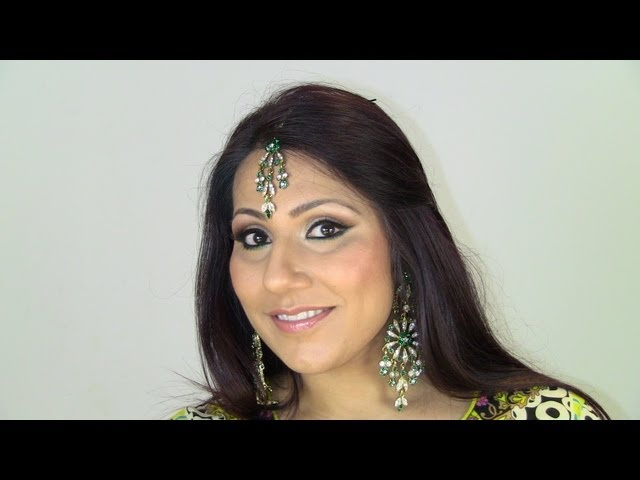 Mendhi/Sangeet Night Makeup- Fresh, Glowy & Dewy Skin