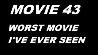 Movie 43 REVIEW (WORST MOVIE I