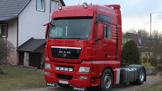 Наш MAN TGX 18.440 / Our red MAN TGX 18.440
