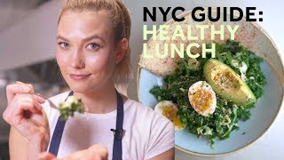 How to make the best healthy lunch in NYC | Karlie Kloss