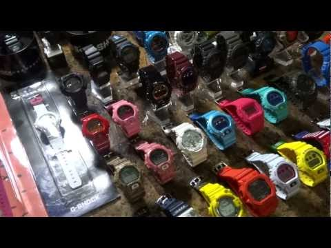 CASIO G-SHOCK MIKE835′S COLLECTION VIDEO #6 1/1/13 OVER 100 STRONG