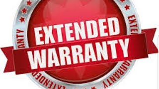 New Car Extended Warranty?! Is it worth it?