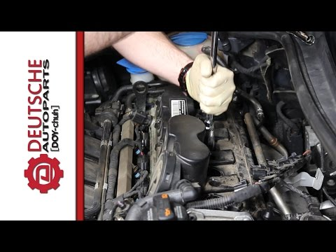 Spark Plug Install (DIY) How to on VW 2.5L 5 Cylinder Engine