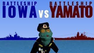 USS Iowa vs IJN Yamato