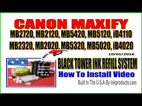 CIS-CISS for Canon Maxify MB2720, MB2120, MB5420, MB5120, iB4110