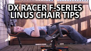 DX Racer F-Series Gaming Chair