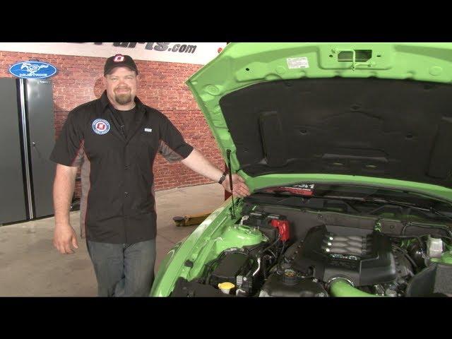 Mustang Cabin Air Filter Installation 2005-2014 - YouTube