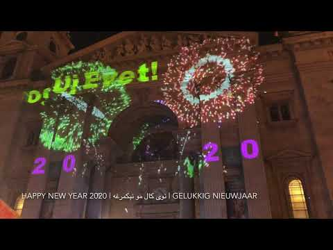 New Year's Eve 2020 in Budapest, Hungary | Stunning Fireworks