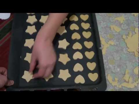 Как приготовить тесто для печенья - видео