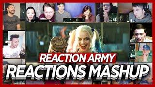 Suicide Squad Blitz Trailer Reaction's Mashup
