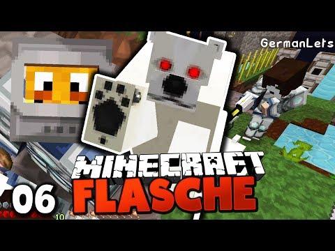 Ich WERDE STERBEN! MANNI GREIFT MICH AN ☆ Minecraft FLASCHE #6