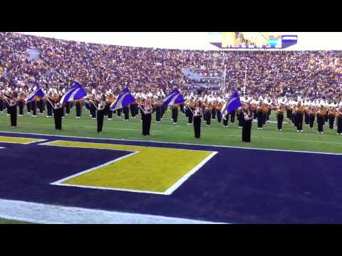 Lsu Tiger Band Pregame