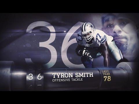 #36 Tyron Smith (OT, Cowboys) | Top 100 Players of 2015