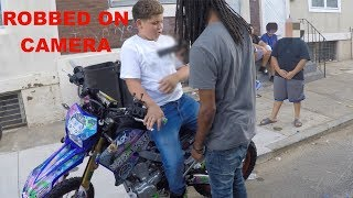 FATTY GOT ROBBED FOR MY BIKE !!!!!