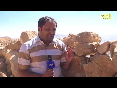 فيديو: هكذا قام الفريق علي محسن بحمل جريح من الجيش الوطني على ظهره في مأرب