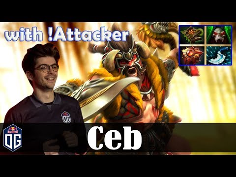 Ceb - Beastmaster Offlane | with Attacker (MK) 7.20 Update Patch | Dota 2 Pro MMR Gameplay
