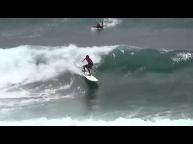 Longboard Open Final 30th Annual Quiksilver/Big Island Toyota Big Island Pro-Am Surfing Trials