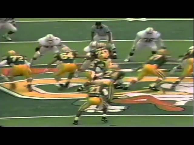 Oregon QB Kyle Crowston 14 yard option run vs. Stanford 11-02-1991