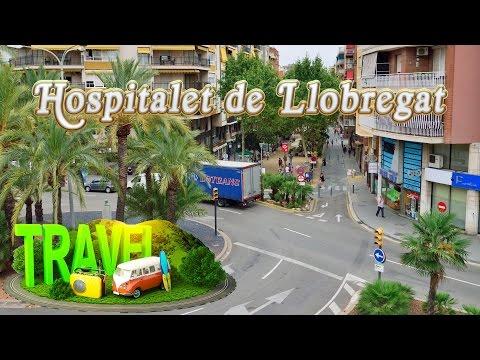 Rambla Just Oliveras #Hospitalet de Llobregat ☕ Utra HD 4K
