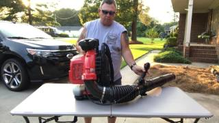 Review of our new Red Max  EBZ 8500 Blower
