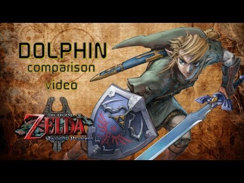 DOLPHIN - The Legend of Zelda: Twilight Princess - SD vs. HD   The Pixel Press