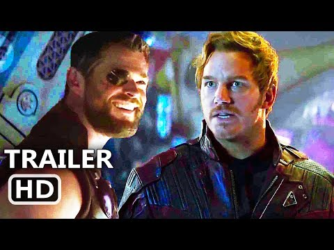 "AVENGERS Infinity War ""Star Lord Imitates Thor"" Trailer (2018) Marvel Movie HD"