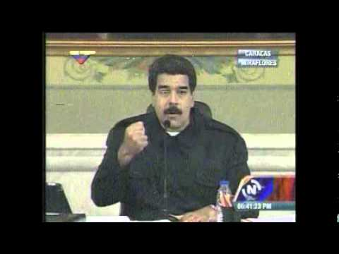 Maduro sobre juicio de Leopoldo López