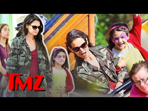 Katie Holmes And Suri Have A Family Day But Where's Tom Cruise!