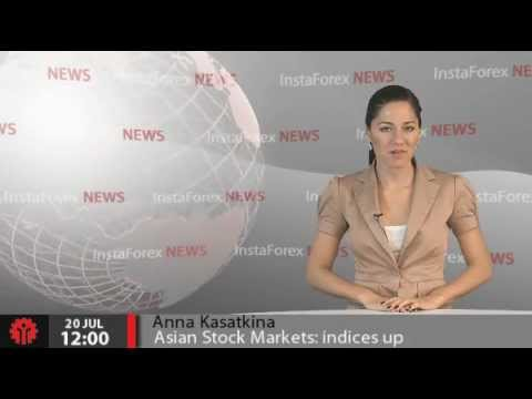 InstaForex News 20 July. Asian Stock Markets: indices up