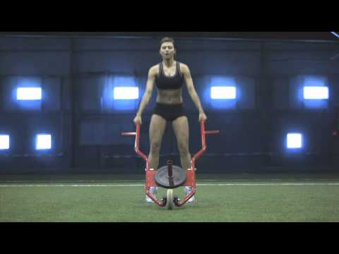 SLEDBARROW (exercise)  - Plyometric Jump Squats
