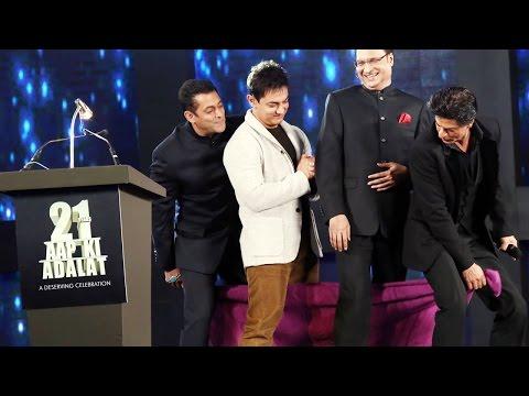 Don't Miss: Shah Rukh Khan, Salman Khan And Aamir Khan's Towel Dance