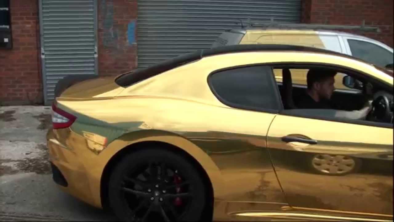 Gold Chrome Wrap Full Wrap in Gold Chrome