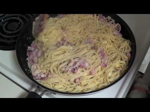 Italian Cooking - Spaghetti alla Carbonara