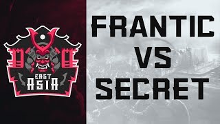ECL East Asia 4v4- Frantic vs Secret [Quarter Finals]