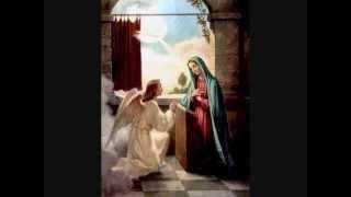 """Prier le Rosaire pour la Vierge Marie - le mystère joyeux - musique  """"Corciolli-Gabriel"""","""