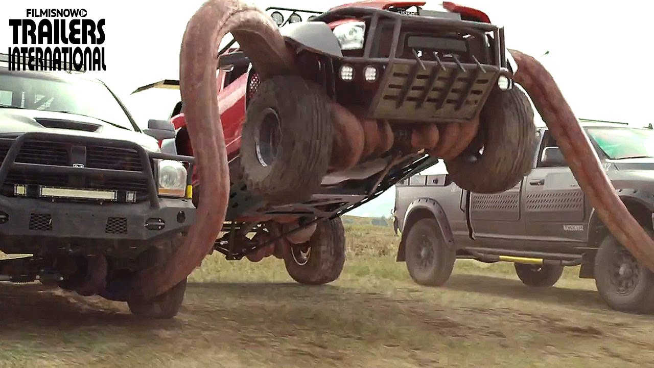 MONSTER TRUCKS com Lucas Till | Trailer Legendado + Dublado [HD]