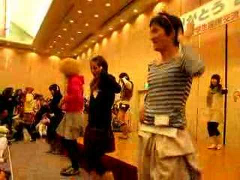 International Party in Japan  (ありがとう2007) korean dance