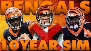 Bengals Make the Playoffs, A lot! Madden 19 Cincinnati Bengals 10 Year Sim Rebuild!