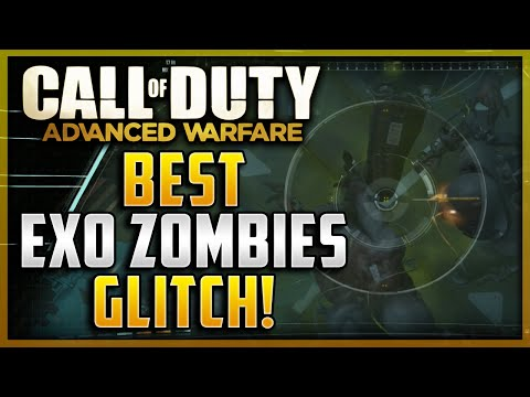 Advanced Warfare Glitches - Best Exo Zombies Glitch! Fully Invincible To All Zombies & Dogs! video
