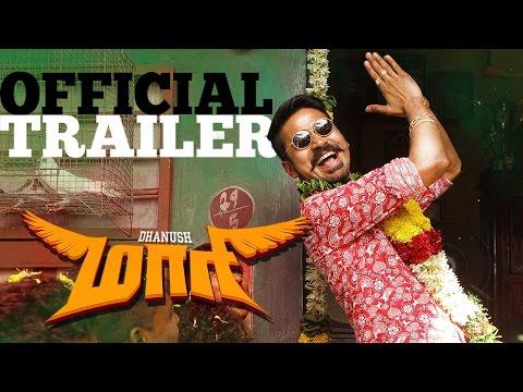 Maari - Official Trailer   Dhanush, Kajal Agarwal   Anirudh   Balaji Mohan