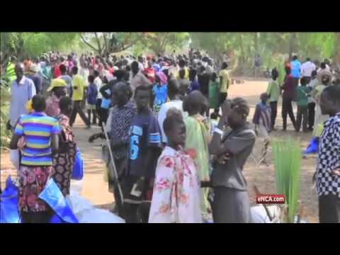 South Sudanese people caught between a war and a humanitarian crisis