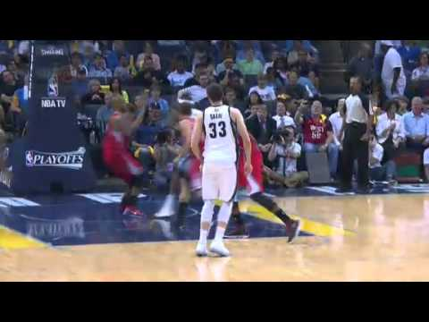 NBA Playoffs 2013: NBA LA Clippers Vs Memphis Grizzlies Highlights April 25, 2013 Game 3