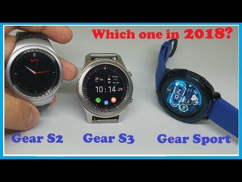 Gear S3 vs Gear Sport vs Gear S2 - Which Samsung smartwatch should you buy in 2018?