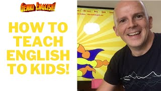 The best way to teach English to kids or adults:  Genki English!