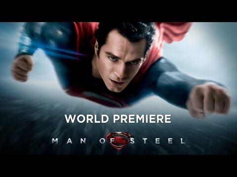 Man Of Steel -- World Premiere video