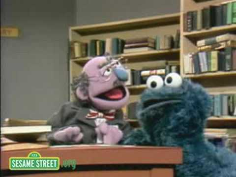 Sesame Street: Cookie Monster In The Library Video